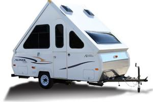 Related campers trailmanor chalet folding hi lo coleman camper off