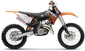every ktm 125 sx motocross bike for sale